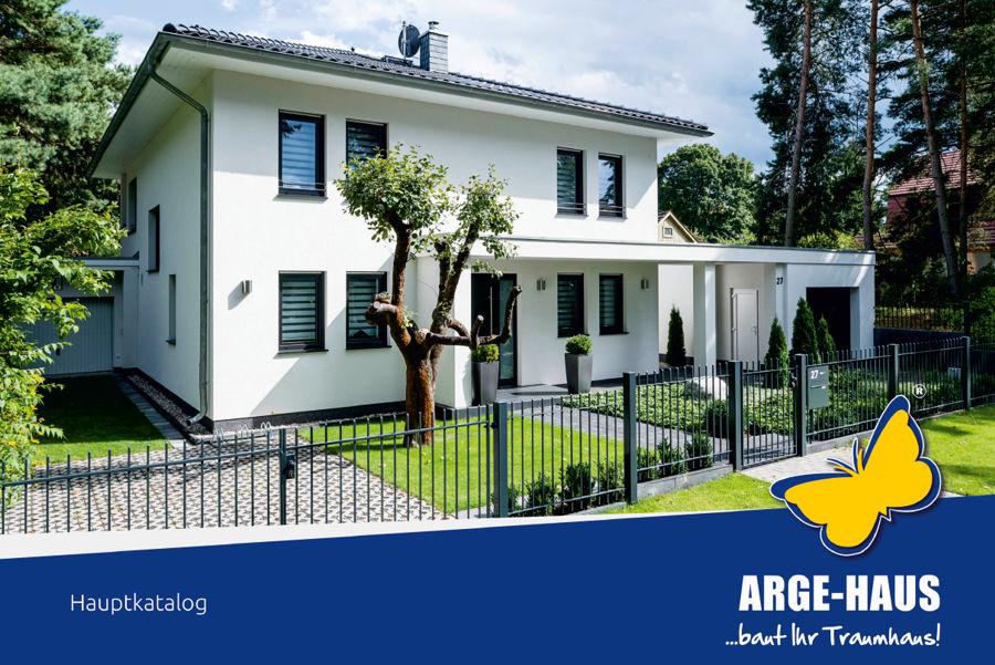 Hausbaukatalog der Firma ARGE-HAUS auf Rügen
