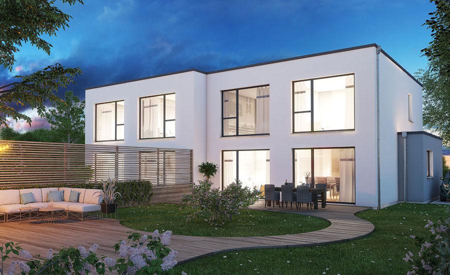 Doppelhaus bauen auf Rügen und auf der Insel Usedom.