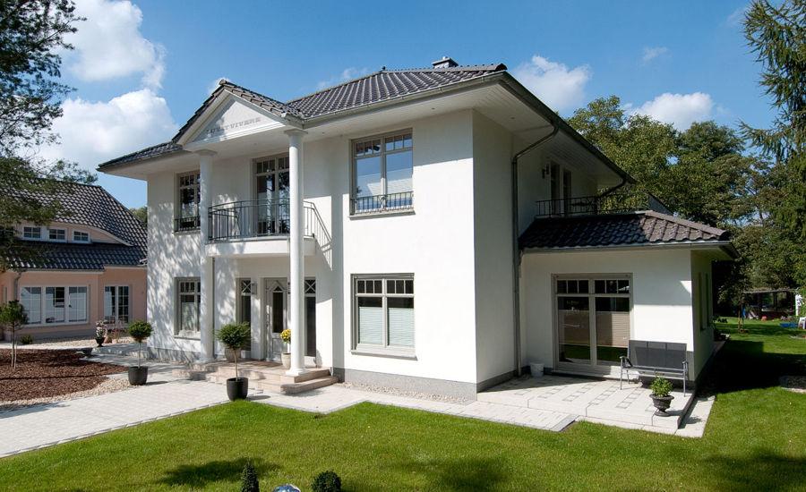 Eine Stadtvilla auf Rügen bauen.